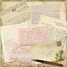 Letters from Helen, right page - Heritage Family - Gallery - Scrap Girls Digital Scrapbooking Forum