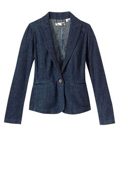 Levi's Cotton Denim Blazer