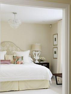 Again a peaceful neutral bedroom
