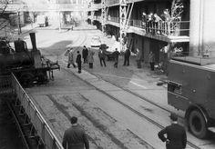 HANNOVER Döhren 1965 Werksgelände Döhrener Wolle  hanover germany