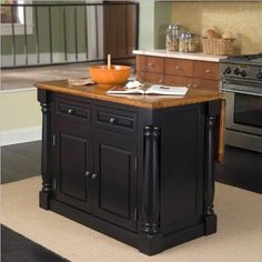 Home Styles 5008-94 Monarch Kitchen Island, Black and Distressed Oak Finish by Home Styles, http://www.amazon.com/dp/B004D74GEC/ref=cm_sw_r_pi_dp_mMcOqb0ARP7GQ