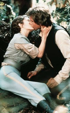 """She recently wrote about having an affair with her Star Wars co-star, Ford, who she described as """"a shining specimen of a man."""""""