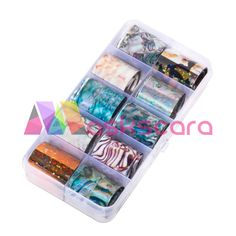 10 Design/set Holographic Nail Art Transfer Foil Stickers Paper Starry AB Color UV Gel Wraps Nail Adhesive Decals , Item Type: Sticker & DecalStyle: Holographic Nail FoilQuantity: Name: NEWBYModel Number: Nail art foilMaterial: Nail Foil Paper Foil Nails, Uv Gel Nails, Nail Manicure, Transfer Foil, Nail Art Supplies, Foil Paper, Nail Stamping Plates, Holographic Nails, Nail Decorations