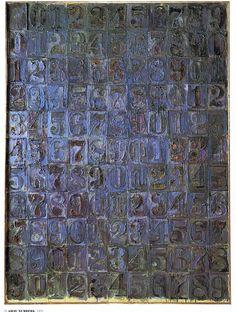 Noise Admiration: Artwork of the Day #59/2011: Jasper Johns (9)