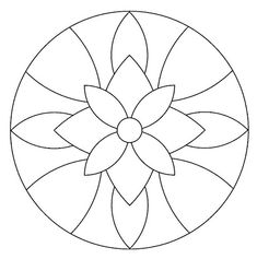 Instead of a mandala this would be a great stained glass pattern. Mandala Art, Mandala Drawing, Mandala Pattern, Mandala Towel, Easy Mandala, Mandala Coloring Pages, Colouring Pages, Adult Coloring Pages, Coloring Books