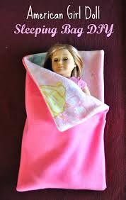 american girl doll diy sleeping bag