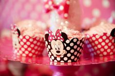 minnie cupcakes wrappers