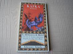 EL BUITRE.- Kafka. La biblioteca de Babel, Siruela 1985, prólg. y direc, J.Luis Borges - Foto 1