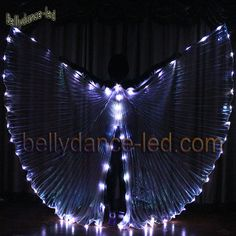 Cold LED isis wings are best for any dance performance.