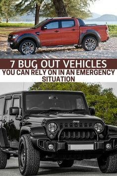 """7 Bug Out Vehicles You Can Rely On In An Emergency Situation - From there you have to ask yourself, """"what makes a great bug out vehicle?"""" This article goes into that in great detail. In fact, you will learn about 7 vehicles that can make for a great little set of bugout wheels. Only when you fully understand the possibilities can you make a decision about whether or not you are making the right choices. #prepping #preparedness #prepper #survival #shtf #selfsufficient #bugout"""