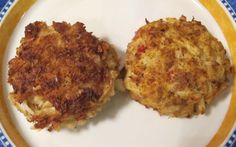 Maryland-style Crab Cakes - blog - Mother Would Know - recipes & cooking tips