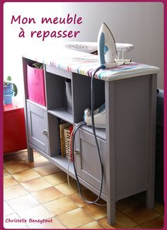 This is a bit clever, a real space saver for those that have small craft/sewing rooms.