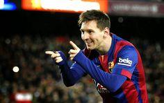 Blog Esportivo do Suíço: Lionel Messi supera Ronaldo em gols na carreira