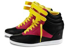 $89.98 Freestyle HI Wedge Reebok sneaker by Alicia Keys. Feelin it!