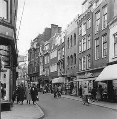 The Choorstraat in the old days Utrecht, Rotterdam, Red Light District, Old Paintings, The Old Days, Netherlands, Holland, Dutch, Cool Pictures