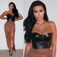Dark hair, tanned and fit on fleek!