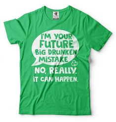 MAY THE LUCK BE WITH YOU Kids Unisex T-Shirt St Patricks Day Irish Ireland Paddy
