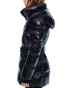 Stylish Coat, Fenty Puma, Down Coat, Bow Sneakers, Soho, Coats For Women, Winter Jackets, Belt, How To Wear