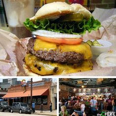 Twisted Root Burger, Dallas. They say they do it bigger in Texas!