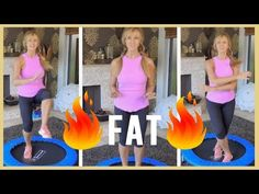 Fat Burning Workout For Women Over 50! - YouTube
