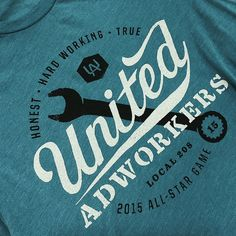 Two Color Print on Heathered Teal
