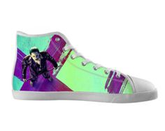 Items similar to Custom High Top Canvas Shoes Sneakers Style Harley Quinn  Suicide Squad 118104 on Etsy acabc94fd