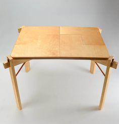 Table by Jie Gao, via Behance