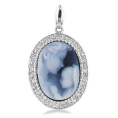14k White Gold Mother and Her Baby Cameo Pendant with Diamond, (mother and child jewelry), via https://myamzn.heroku.com/go/B000WQV1S2/14k-White-Gold-Mother-and-Her-Baby-Cameo-Pendant-with-Diamond