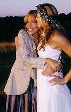 Carly Simon with daughter Sally Taylor