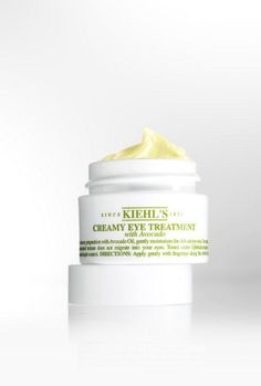 A Kiehl's classic for a burst of hydration to the eye area! Eye Treatment, Kiehls, Avocado Oil, How To Apply, How To Make, Moisturizer, Journey, Skin Care, Eyes