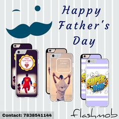 If you can't be with your dad this Father's Day, honor him by reflecting your love for him with Flashmob Printed Covers.  Available for more than 40 models. GRAB NOW !! For orders contact : 7838541144