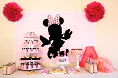 Little Big Company | The Blog: Minnie Mouse 1st Birthday by Ruffles and Bells