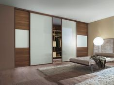 Linear made to measure sliding wardrobe doors