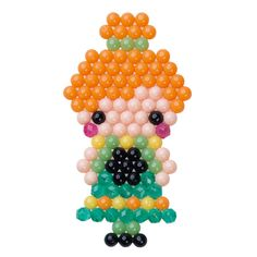 Princess Anna – Frozen Fever – Aquabeads Check more at entwurf.homedecor… Princess Anna – Frozen Fever – Aquabeads Check more at entwurf. Perler Bead Designs, Loom Beading, Beading Patterns, Princess Anna Frozen, Bead Crafts, Diy Crafts, Anna Und Elsa, Craft Projects, Projects To Try