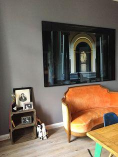 #Wohnzimmer In Manhattan No. 58 #Kreidefarbe #Annavonmangoldt  #Wohnzimmergrau #Wandfarbe