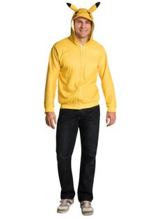 The Pokemon Pikachu Hoodie is the best 2019 Halloween costume for you to get! Everyone will love this Mens costume that you picked up from Wholesale Halloween Costumes! Wholesale Halloween Costumes, New Halloween Costumes, Costumes For Sale, Adult Costumes, Men's Costumes, Pikachu Costume, Pokemon Costumes, Pikachu Hoodie, Star Wars Shop