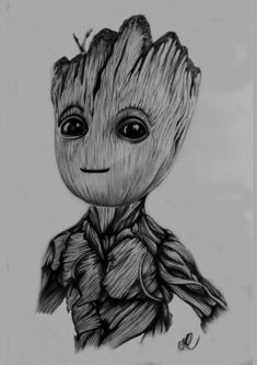 Groot Drawing Pencil - Drawing Baby Groot Avengers Drawings Marvel Drawings Pencil Izobrazhenie Groot Ot Polzovatelya Jess Beals Here Is A Sketch Tryout Of The Character Bab. Cool Art Drawings, Pencil Art Drawings, Art Drawings Sketches, Disney Drawings, Cartoon Drawings, Avengers Drawings, Avengers Art, Marvel Art, Disney Marvel