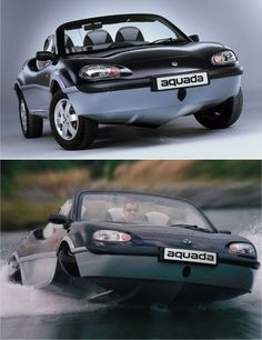 Who wouldn't want an amphibious car?