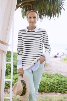Tory Burch, CEO and Creative Director of Tory Burch, Southampton