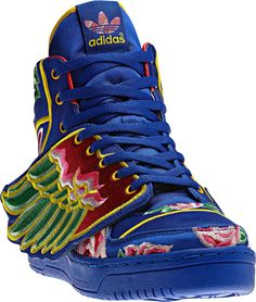 new adidas jeremy scott ... Looks like some one got pretty inspired by traditional handmade Tibetan shoes .. Hmmm...