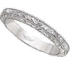 hand engraved wedding ring - Google Search