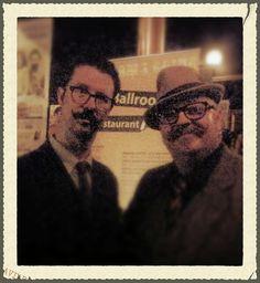 Raymond and Mr B the gentleman rhymer