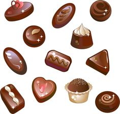 Chocolate candy vector set - Free EPS file Chocolate candy vector set downloadName:  Chocolate candy vector setLicense:  Creative Commons (Attribution 3.0)Categories:  Vector Cartoon, Vector FoodFile Format:  EPS  - https://www.welovesolo.com/chocolate-candy-vector-set/