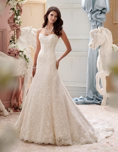 David Tutera - Indiana - 115245 - All Dressed Up, Bridal Gown