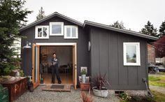 Garage conversion into tiny house by Michelle de la Vega