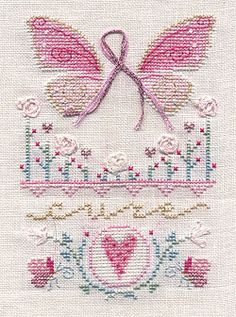 cancer awareness xstitch