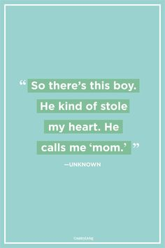 Heart-Warming Quotes About Mothers and Sons