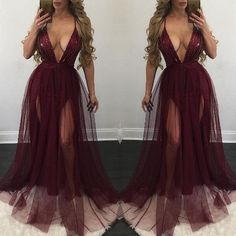 Women Sexy V Neck Sequins Bridesmaid Formal Gown Ball Party Evening Prom Long Maxi Dress Clubwear-in Dresses from Women's Clothing & Accessories on Aliexpress.com   Alibaba Group