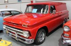 1966 Chevy C10 Panel Truck - I sure miss my '64!
