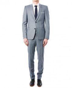The Kooples Costume blue-grey - Costume - Homme Costume Gris, Mens Suits, Suit Men, Wedding Wear, Blue Grey, Marie, Your Style, Suit Jacket, Mens Fashion